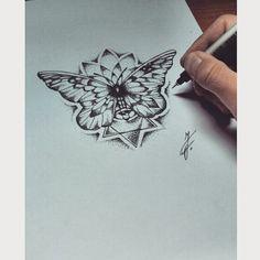 butterfly mandala tattoo - Google-Suche