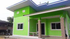 บ้านชั้นเดียวสไตล์โมเดิร์น 3 ห้องนอน งบก่อสร้าง 850,000 บาท