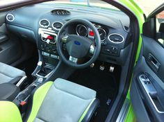 2010 Ford Focus RS interior, detailed by www.wevaletcars.co.uk in York, UK
