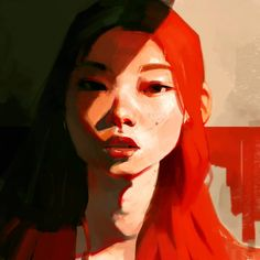 Kai Fine Art is an art website, shows painting and illustration works all over the world. Kunst Inspo, Art Inspo, Art And Illustration, Girl Illustrations, Wal Art, Guache, Art Drawings, Drawing Faces, Animal Drawings