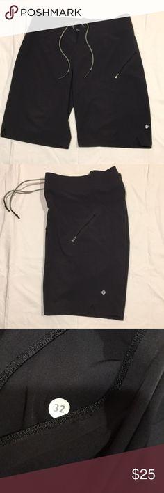"""Lulu Lemon shorts 10"""" Tied 32"""" waistband lululemon athletica Shorts Athletic"""