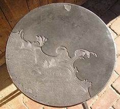 Inspiration re decorating cement surfaces