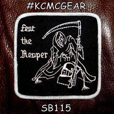 Fear the Reaper Death Angel Biker Patch Motorcycle Jacket Vest Shirt 4 inch  #sturgismidwestinc
