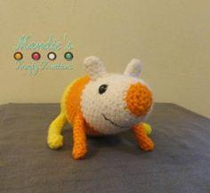 Candy Corn Rat Crochet Pattern!