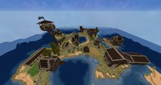 Medieval island fishers village. Survival. Karanteeni.net9.fi