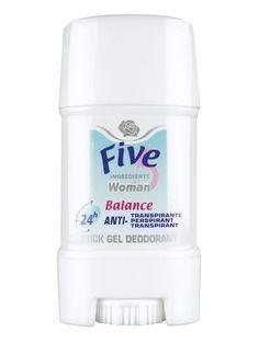 Stick gel pentru ea FIVE 5 Balance Deodorant, Personal Care, Fragrance, Personal Hygiene, Odor Eliminator