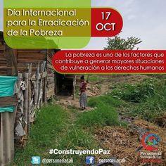 17 de Octubre Día Internacional para la erradicación de la Pobreza