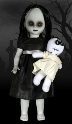 Creepy Doll. Love this one.