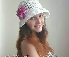 Valerie's Summer Sun Hat - Free Crochet Pattern - The Lavender Chair
