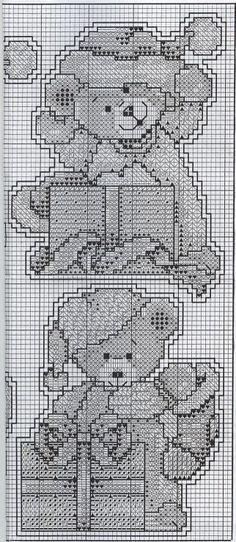 Little Bears Ornaments - Chart 3/3