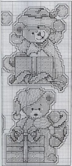 Little Bears Ornaments - Chart 3/3