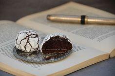 Chocolate Crinkles Cookies - biscotti al cioccolato