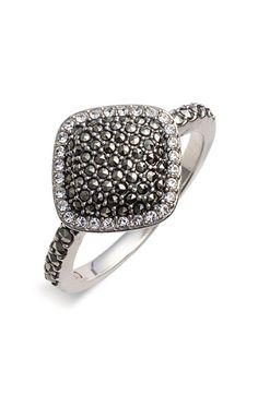 Judith Jack Marcasite & Crystal Ring