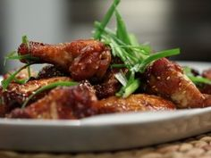 Ginger Sesame Chicken Wings from CookingChannelTV.com