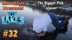 Ice Lakes - Ep. #32 - The Biggest Fish...Almost!