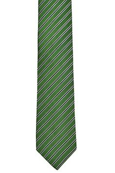 Necktie - Yellow base with blue and white stripes Notch S7SSqC