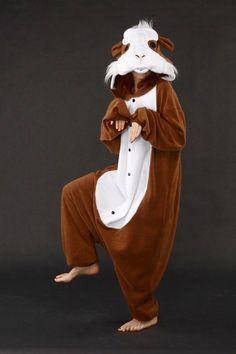 Guinea Pig Onesie Kigurumi Pajamas - 4kigurumi.com