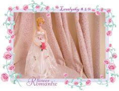 [Novo trabalho] florido noiva - boneca de casamento - coreano boneca - boneca handmade