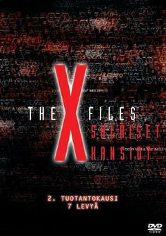 X-Files kaudet ykkösestä alkaen. The X Files, Filing, Disney, Disney Art
