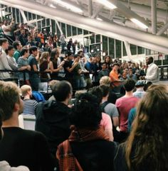 Kanye stops by Harvard GSD to talk about architecture with students / via jen