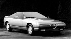 1983 Alfa Romeo Delfino (En: Dolphin) Concept by Bertone; it was based on an Alfa Romeo Alfa 6