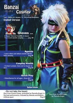 Banzai Cosplay Edição 05  English Version