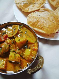 Aloo Methi,Potato Methi,Masala,Gravy,Indian,Vegetarian