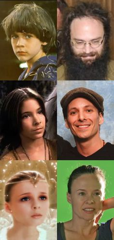the neverending story cast grown up- Okay Bastian is just scary looking now.
