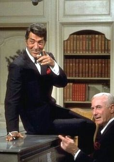 Dean Martin on piano and Kenny Lane at piano on The Dean Martin Show