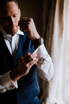 Steve getting ready for his wedding ceremony at Fennes wedding venue, Braintree. Image by Sally Rawlins Photography. Wedding Groom, Wedding Ceremony, Wedding Venues, Wedding Day, Groom Style, Sally, Wedding Styles, Photography, Image