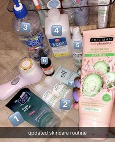 Handy Face skin care routine number this is a fine course of action to give regular care for your facial skin. Regular natural skin care steps of face care. Skin Care Regimen, Skin Care Tips, Skin Care Products, Clear Skin Products, Facial Products, Beauty Products, Clear Skin Tips, Clear Skin Routine, Healthy Skin Care