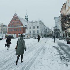 Schneeiges #Greifswald ist #schneeig