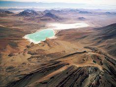laguna Verde e laguna Blanca, Bolivia
