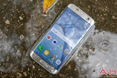Can Samsungs Galaxy S7 be Used When Wet? #Android #CES2016 #Google