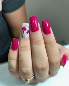 beautiful fall nail art design to copy now 2 ~ thereds.me : beautiful fall nail art design to copy now 2 ~ thereds. Elegant Nails, Stylish Nails, Trendy Nails, Pink Nail Art, Pink Nails, Gel Nails, Fall Nail Art Designs, Colorful Nail Designs, Fancy Nails