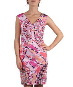 Groppetti Luxury Store - Abito Fantasia Scollo a V - Emilio Pucci Spring Summer Collection 2014 #emiliopucci #woman #fashion