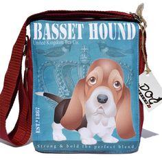 Basset hound táska