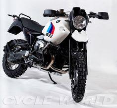 Retro-Mod BMW R1200GS Body Kit