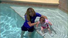 Teaching babies in the water
