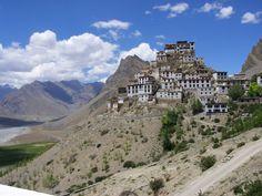 Key Monastery, Spiti Valley, Himachal Pradesh, India