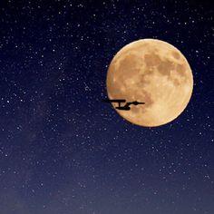 中秋の名月とエンタープライズ