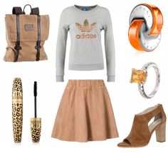#outfit Sporty Student ♥ #outfit #outfit #outfitdestages #dresslove
