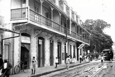 Frederick Street Port of Spain looking toward Woodford Sqaure. It's one of the saddest things that these old buildings were not preserved.