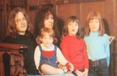 John Paul Jones   Led Zeppelin & his family > aww, sweet. Love it that he's a family man!