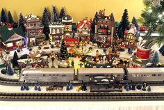 Department 56 Christmas Train Layout by contemplative imaging, via Flickr