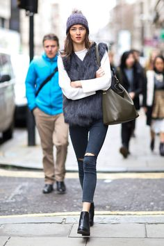 Street Style at Men's Fashion Week Fall 2015 | StyleCaster