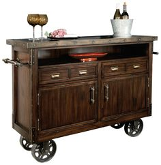 Shop a great selection of Howard Miller Barrow Wine Bar Storage Console ? Find new offer and Similar products for Howard Miller Barrow Wine Bar Storage Console ? Wine Bar Cabinet, Wine Cabinets, Rustic Bar Cabinet, Buffet Cabinet, Bar Retro, Bar Console, Utensil Storage, Gold Bar Cart, Howard Miller