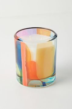 Claire Desjardins Kaleidoscope Glass Candle by in Red Size: All, Fragrance at Anthropologie