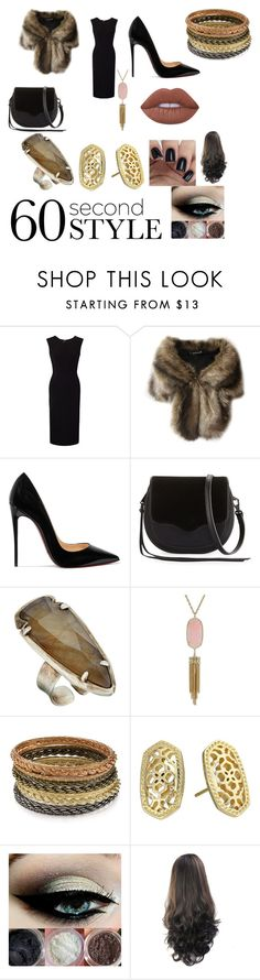"""""""Vogue Magazine"""" by cutekj103 ❤ liked on Polyvore featuring Roland Mouret, Christian Louboutin, Rebecca Minkoff, Kendra Scott, Lime Crime, jobinterview and 60secondstyle"""