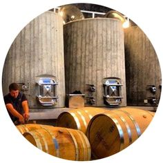 concrete wine tanks california Distillery, Brewery, Tanks, Concrete, California, Wine, Food, Shelled, The California